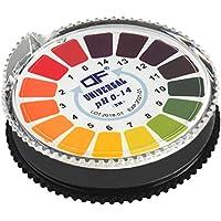 ECENCE Tiras para medir el pH Papel de tornasol para Pruebas Papel de tornasol para medición ácido-alcalino Rango de medición de 0-14 12020101