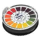 ECENCE PH-Wert Teststreifen Indikator Lackmus Testpapier Lackmuspapier Säure Alkaline Messbereich 0-14 12020101