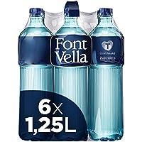 Font Vella Agua Mineral Natural Solidaria - Pack de 6 x 1.25 L