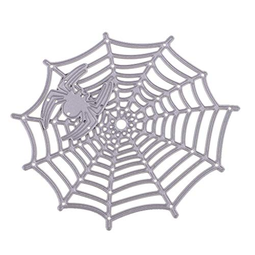 Amison 1 Set New Spider&Web Metal Cutting Dies Stencil Scrapbook Paper Card Craft Embossing DIY Decorations -