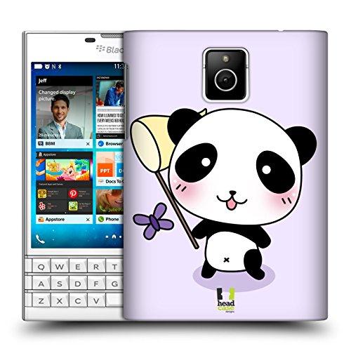 Head Case Designs Fang Den Schmetterling Kawaii Panda Ruckseite Hülle für BlackBerry - Passport Panda Cover