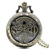 Sword Art Online Taschenuhr, São Anime Comic Pocket Uhren, Geschenk für Teens