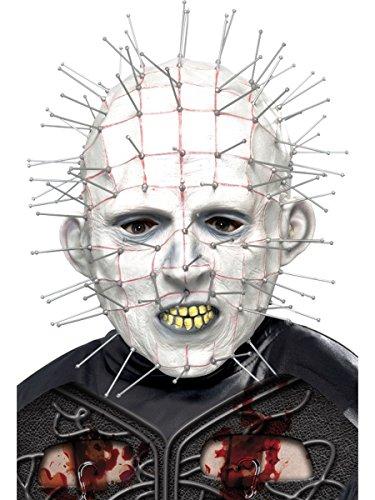 Maske Pinhead Karneval Fasching Halloween (Pinhead Hellraiser Kostüm)