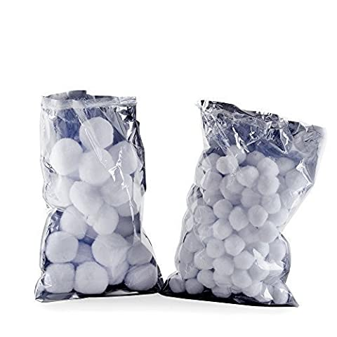 Small & Large Artificial Snowball Christmas Decoration Display Accessories Packs