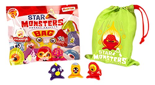 STAR MONSTERS POCKET FRIENDS (BOLSA DE TELA CON 3 STAR MONSTERS)