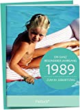 1989 - Ein ganz besonderer Jahrgang Zum 30. Geburtstag: Jahrgangs-Heftchen mit Kuvert