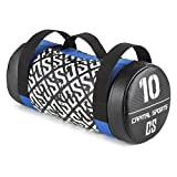 Capital Sports Toughbag - Power Bag, Core Bag, Fitness Bag, Gewicht: 10 kg, Koordinations-, Kraft- und Ausdauertraining, Functional-Training, 3 Griffe aus Nylon, Sand-Florettseide-Mischung
