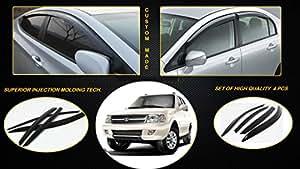 Volga Tata Safari Dicor Door Visor/rain Guard Shade Set Of 6