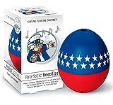 Brainstream Piepei Patriotic USA, Eieruhr zum mitkochen, Spielt 3 Melodien für 3 Härtegrade, A004526