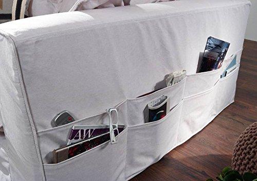 Sofa XXXL Hussensofa NORA Bezug weiß BIG Sofa weiß - 5