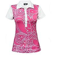 Golf polo para mujer beFresh ROSA (M)