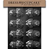 Dress My Cupcake DMCA126 Chocolate Candy Mould, Frog