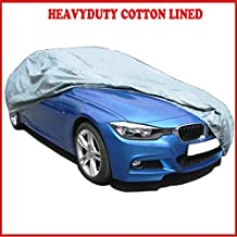 BMW E46 (3 Series) Convertible (02-07) HEAVYDUTY FULLY WATERPROOF CAR COVER COTTON LINED