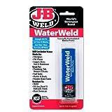 J-B Weld 8277 WaterWeld Underwater Epoxy Putty, Size: 57 g (2 oz)