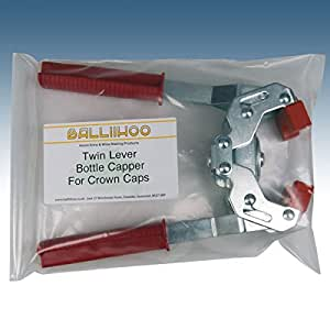 Home Brew - Balliihoo® Twin Lever Bottle Capper For Crown Caps