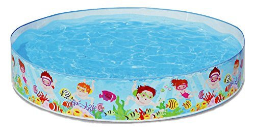 Snap Set Baby Pool Bath Water Tub for Kids - 4ft x 10 inch (1.22m x 25cm)
