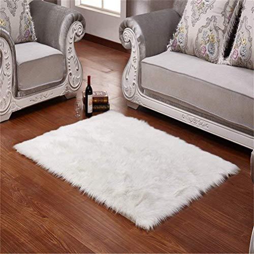 Faux Cordero oveja alfombra 50 x 150 cm Cordero sintética