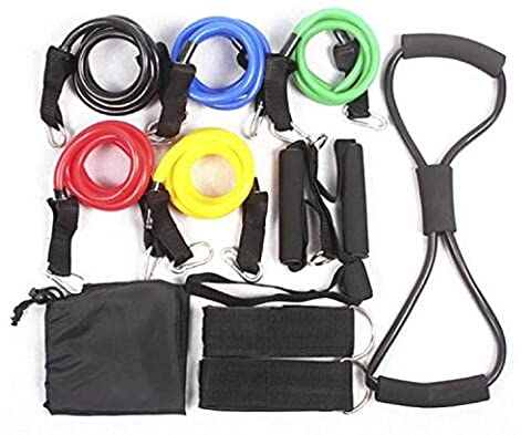 Fitness-Training Kits Mit Gummiband Zugtragfähigkeiten Bänder Thoraxtubus
