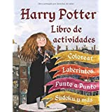 Harry Potter Libro de actividades: Colorear, Punto a Punto, Laberintos, Sudoku y más