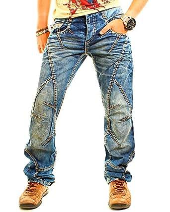 Cipo & Baxx Jeans C-894 Gr. 29W/32L, Blue - Blue