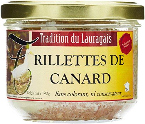 Tradition du Lauragais Rillettes de Canard 190 g