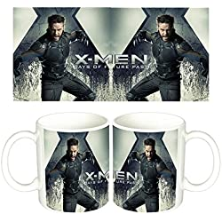 X-Men Days Of Future Past Lobezno Wolverine Hugh Jackman A Taza Mug