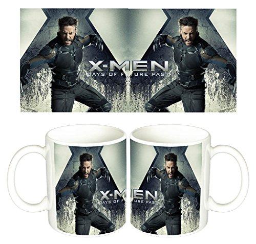 X-Men Days Of Future Past Lobezno Wolverine Hugh Jackman A Taza Mug