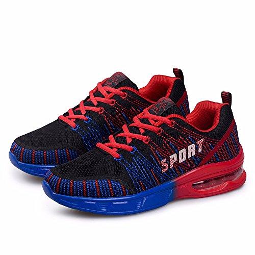 Battenti Uomo Sneakers Blue Sneakers Di red Marea Linea qEwT7pTx
