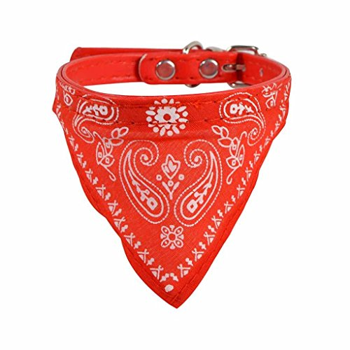 collier-chien-reglable-puppy-chat-neck-scarf-bandana-collier-foulard-30509cm-rouge