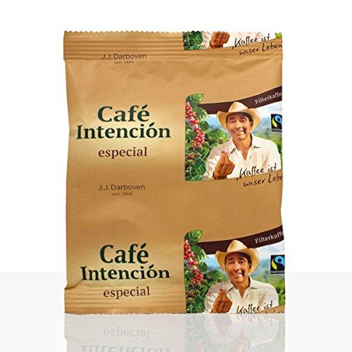 Darboven Cafe Intencion especial - Karton 100 x 60g Fairtrade Kaffee gemahlen