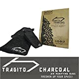 #6: Tragito Activated Charcoal Natural Air Purifier Bag, Deodorizer, Odour Remover for Shoes car Room Fridge (Pack of 1) (3)