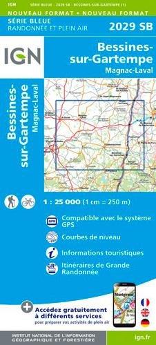 2029SB BESSINES-SUR-GARTEMPE MAGNAC-LAVAL par COLLECTIF