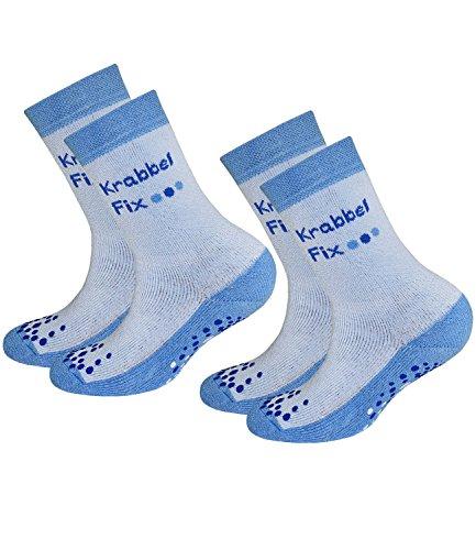 2 Pack 1200 Ersatz (EveryKid Ewers 2er Pack Jungenstoppersocken Stoppersocken ABS Socken Antirutsch schadstofffrei für Kinder (EW-21015-S17-JU3-1200-1200-16/17) in Adria-Adria, Größe 16/17 inkl Fashionguide)