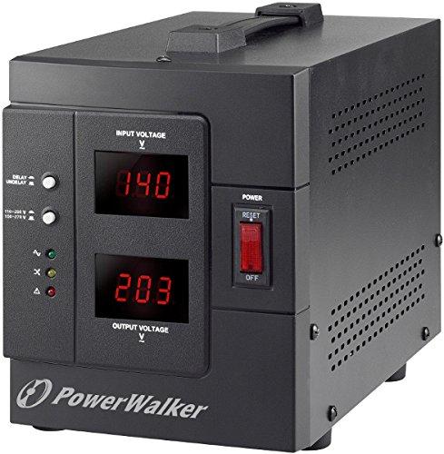 Regulador de Voltaje 230 V, 50 Hz, 230 V, 50 Hz, 1000 VA, 800 W Tecnoware Power Reg 1000VA