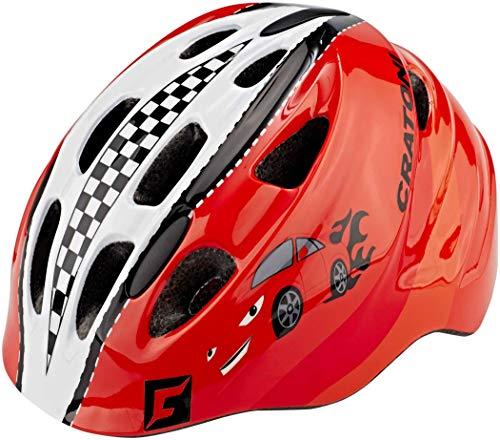 Cratoni Akino Helmet Kids rennauto rot Glanz Kopfumfang M   53-58cm 2019 Fahrradhelm