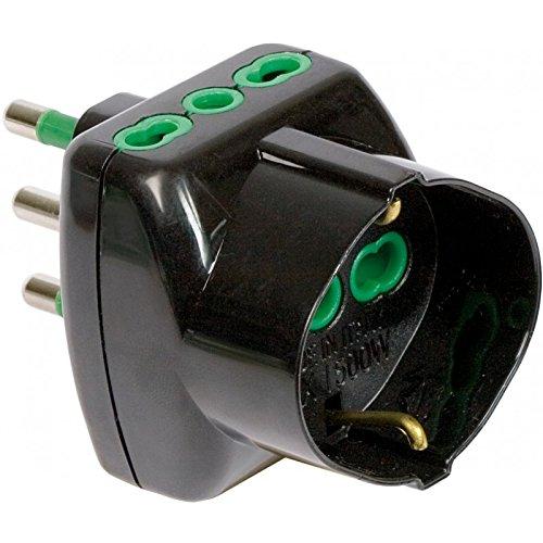 FANTON 82241 adattatore per presa di corrente Tipo L (IT) Nero