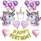 Geburtstag Party Dekoration Girlande Einhorn Luftballon partyzubehör Kindergeburtstag Set