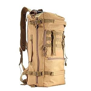 Zhuhaimei,Multifunktionsrucksack-Schultertasche für Outdoor-Campingwandern