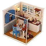 Fenteer 1:24 Skala Puppenhaus Küche mit Möbel Set