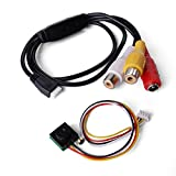 Mini Cámara Seguridad HD Audio CCTV Cableada 0.5LUX 600TVL 5MP 1/4