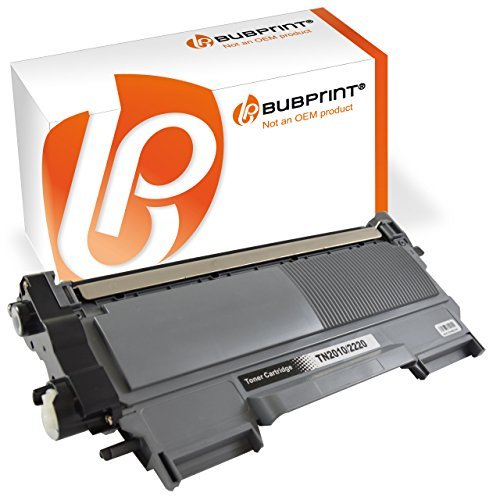 Bubprint Toner kompatibel für TN-2220 TN2220 TN 2220 XXL TN-2010 TN2010 TN 2010 (2.600 S) für Brother DCP-7065dn DCP-7070dw DCP 7060d Fax 2840 2940