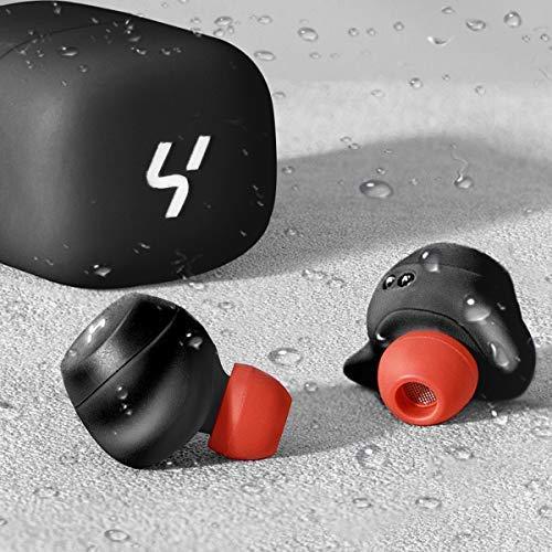 HAVIT Bluetooth Kabellose Kopfhörer in Ear V5.0, Sport Ohrhörer, IPX5 Wasserdicht, 18 Stunden Abspielzeit, Aufbewahrungsbox mit Ladefunktion,Eingebautes Mikrofon für iPhone,Samsung und Huawei, HTC - 2