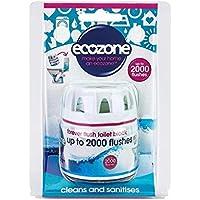 Ecozone Fino A 2000 Vampate Sempre A Filo Blocco Di Servizi Igienici 225G - (Confezione da 2)