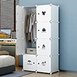 House of Quirk Plastic Portable Storage Organizer, White