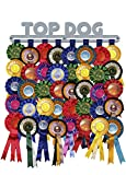 'Top Dog' Rosette Hanger Display Holder Brushed Stainless Steel - Made in Britain