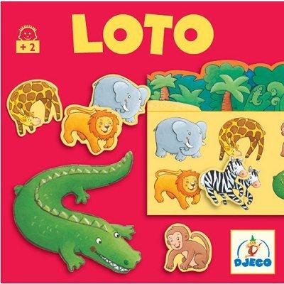 Djeco Giochi d' Azione e reflejosjuegos di mesadjecoeducativos Loto Animali, Multicolore (15)