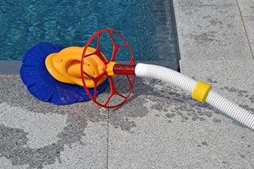 WelaSol® Halbautomatischer Schwimmbad Pool Boden Reiniger Cleaner