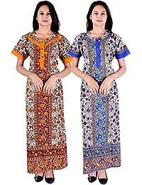 de8a39f74d Amazon.in  Cotton - Nighties   Nightdresses   Sleep   Lounge Wear ...