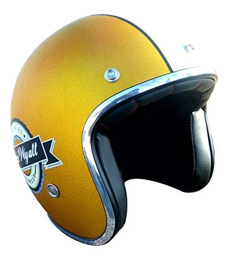 TORX Casco Moto Wyatt Famous Matt Glitter, Giallo, Taglia L