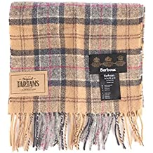 Barbour Tartan Lambswool Scarf Dress-Bufandas